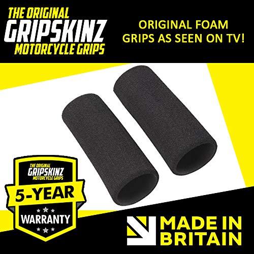 GripSkinz Comfort Motorcycle Foam Over Grips Universal Fit