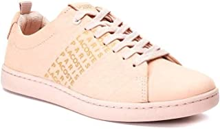Lacoste Carnaby Evo Womens Sneakers Pink