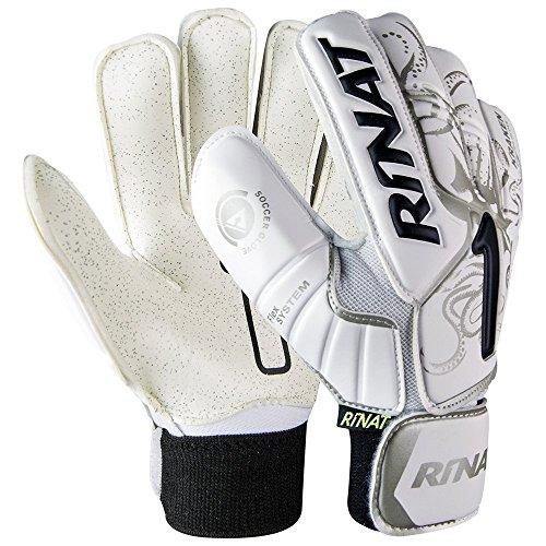 Rinat Kids' Kraken NRG Neo Training Goalkeeper Glove, White,...