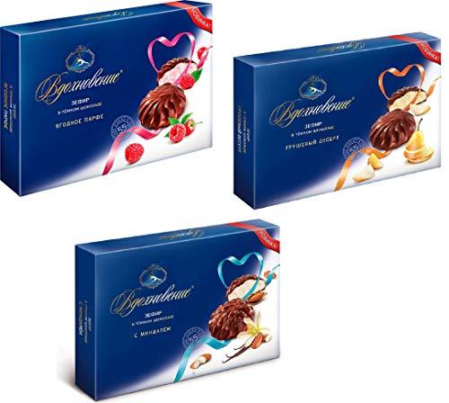 Зефир Вдохновение в темном шоколаде Бабаевский Zephyr Vdokhnoveniy in dark chocolate Marshmallow