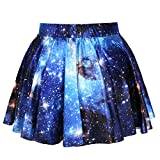 Fashion Damen Sommerkleid Retro Digital Print Vintage Kleid Minikleid Minidress Minirock Rock Skirt...