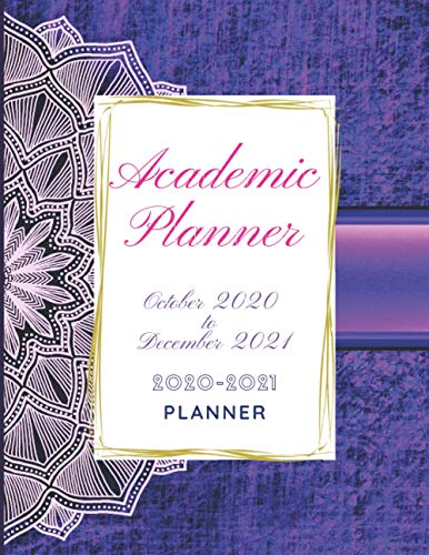 Compare Textbook Prices for Academic Planner 2020-2021: Vintage Mandala for Training meeting Day for Women Business Academics Teachers Students, Weekly & Monthly Academic ... with holiday Scheduling Secretarial Aids  ISBN 9798562746412 by Planner, Golden