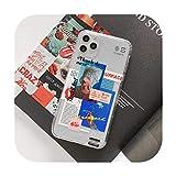 Étui en plastique amusant pour téléphone Huawei P40 P30 P20 Lite Mate 30 Pro 20 P Smart Nova 5t...