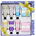 Spa Luxetique Hand Lotion Set, Lotion Gift Set Includes Hand Lotions and Soap Bars, Moisturizing Travel Lotion Set with Shea Butter, Natural Aloe and Vitamin E for Dry Skin, Best Gift Set for Women.