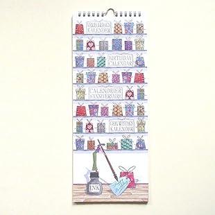 Quire Birthday Calendar - Mahogany:Anders-als-andere