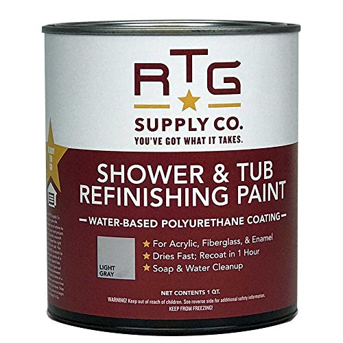 RTG Shower & Tub Refinishing Paint (Light Gray)