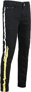 Best yellow side stripe jeans Reviews