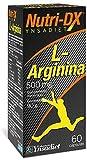 L-Arginina 1500 mg| Suplemento Deportivo| Recuperador de los Músculos| Musculación| Complemento alimenticio a base de Arginina Pura| Estimulador Muscular| 60 Cápsulas – Nutri-dx