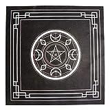 VOSAREA 6 pezzi Altar Tarot carta astrologia Tarot Divination tovaglia pentagramma tovagli...