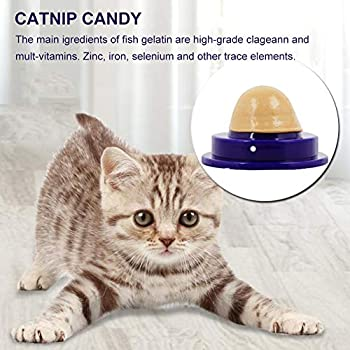 SEGMINISMART Snacks pour Chats,Bonbon Cataire,Cat Treats Sucre Boule,Snacks pour Animaux de Compagnie Cat Food Nutrition Candy