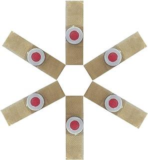 Tampon de dissolvant de maïs de Pied de 6 pièces Patch de plâtre de maïs de Callus de Cure de Pied utile (Couleur de Peau)