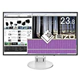 EIZO FlexScan 23.8インチ ディスプレイ モニター (フルHD/IPSパネル/ノングレア/ホワイト/5年間保証&無輝点保証) EV2451-RWT
