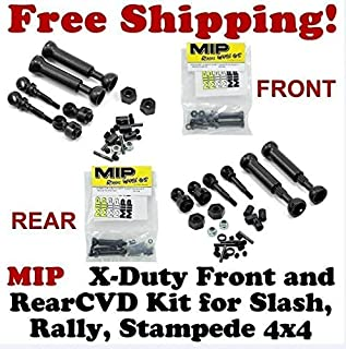 MIP 10130 & 10132 X-Duty Front and Rear CVD Kit Traxxas Slash 4x4 Rally 4x4 Stampede 4X4