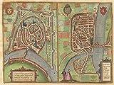 Grenoble Poster, Reproduktion, Format 50 x 70 cm,
