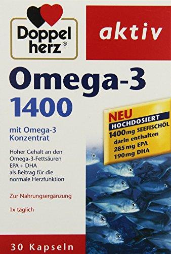Doppelherz aktiv Omega-3 1400, 30er (30 Stück)