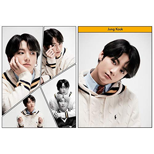 Pster de Map of The Soul 7 de ALTcompluser Kpop para Suga, Jungkook, Jimin V, Jin J-Hope, RM, decoracin de pared, para Army Jungkook.