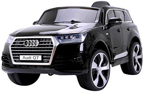 RunRunToys eléctrico Coche Audi Q7 de 12V con Licencia Oficial, Dos Motores...