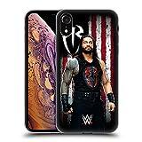 Head Hülle Designs Offiziell Zugelassen WWE Roman Reigns Amerikanische Fahne Superstars Soft Gel Handyhülle Hülle Huelle kompatibel mit Apple iPhone XR