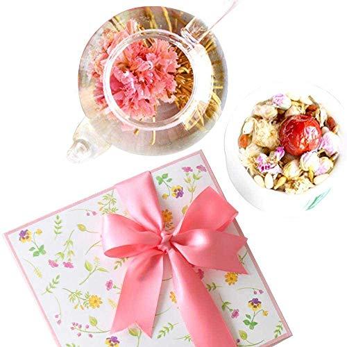 花咲くお茶 工芸茶10種 & 八宝茶 花花セット