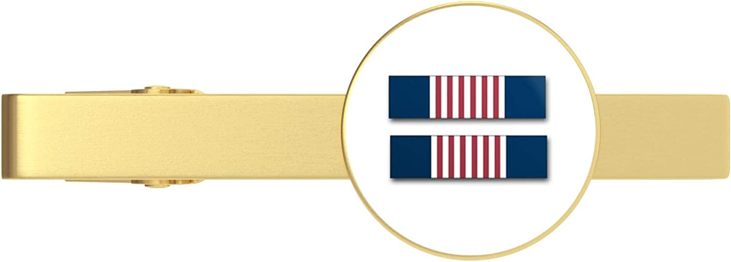 HOF Trading Gold US Opening large release sale Army Soldier's Ribbon Tie Ti Special price for a limited time Clip Medal