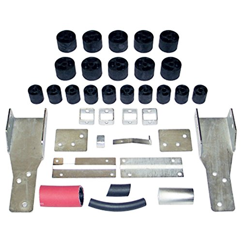 """Performance Accessories, Chevy/GMC S-10/S15/Sonoma/ZR-2 2WD and 4WD Std/Ext Cab 2"""" Body Lift Kit, fits 1998 to 2003, PA192, Made in America"""