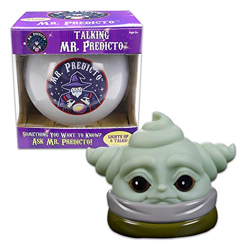 OUR FRIENDLY FOREST Set of Mr. Predicto Talking Ball & Cute Baby Alien Toy Mr Predicto Fortune Telling Ball Lights Up & Talks – Baby Alien Makes 10 Cute Alien Noises & Funny Fart Sounds