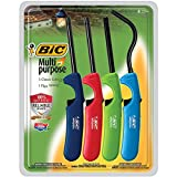 Bic Multi-purpose Lighter, Classic & Flex Wand, 4 Pack