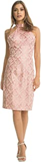 Chi Chi London Pink Cotton Special Occasion Dress For Women