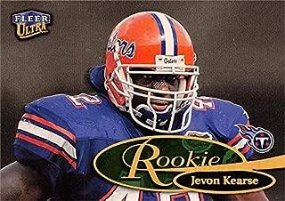Jevon Kearse football card (Florida Gators) 1999 Fleer Ultra Gold Medallion Rookie #273AG
