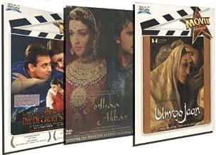 Aishwarya Rai Set of 3 DVD Collection (Jodhaa Akbar / Hum Dil De Chuke Sanam / Umrao Jaan) by Hrithik Roshan