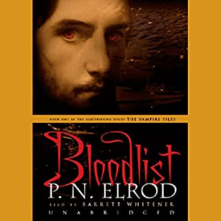 Bloodlist audiobook cover art