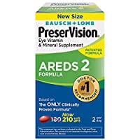 [Bausch & Lomb] PreserVision AREDS 2 Vitamin & Mineral Supplement お得なバリュー210 粒 X 2 Pack