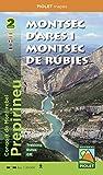 Montsec d'Ares i Montsec de Rúbies. Carpeta con los 2 mapas. 1:20.000. Piolet.: Prepirineu. Escala 1:20.000