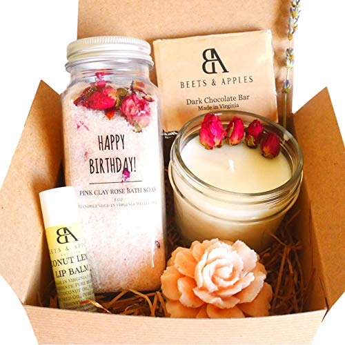 Happy Birthday Gift Basket, Gift Baskets for Women, Gifts for Women, Birthday Gift Ideas for Women,...