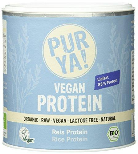 Purya Bio Vegan Protein - Reisprotein, 1er Pack (1 x 250 g)
