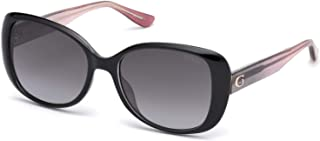 Guess GU7554 Square Sungl for Women + FREE Complimentary Eyewear Kit
