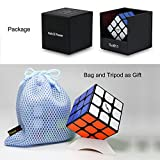 Gobus VALK 3 Power Magic Cube Valk3 Power Speed Cube 3x3x3 cubo Puzzle con Un Supporto cubo e Una Borsa cubo (Nero)
