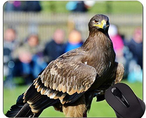 Mausunterlage mit Sperrkante, lassen patriotische Eagle-Thema-Büro-Mausunterlage nicht laufen