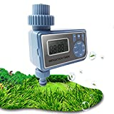 MKNZOME Watering Timer, Hose Timer Automatic Electronic Garden Irrigation System Controller Lawn Sprinkler Timer, Multiple timing settings, for Greenhouse Orchard Garden Landscape Balcony#1