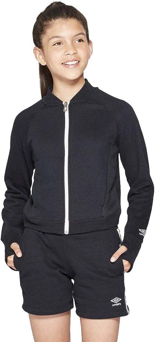 Umbro Girls' Fleece Bomber Jacket -