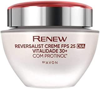 Avon Creme Renew Reversalist Dia Vitalidade 30+ FPS25-50g