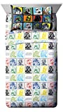 Jay Franco Star Wars Classic Grid 4 Piece Full Sheet Set