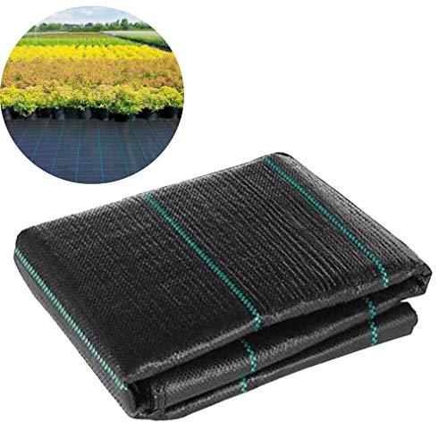 YCSD Unkrautschutzgewebe 0,6 M × 20 M, 80 G/M² Unkrautvlies Gartenlandschaft Bodendecker Membran Atmungsaktives Verdickendes Geotextil