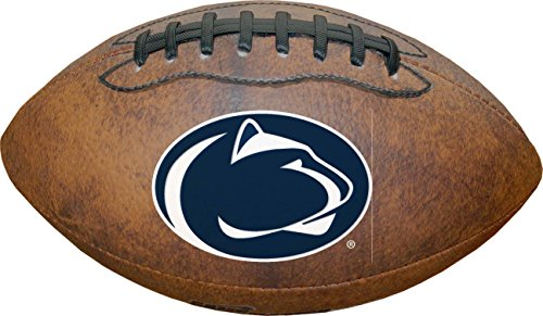 NCAA Penn State Nittany Lions Vintage Throwback Football, 9-Inches