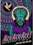 HANJIANGXUE Carteles De Lona 41 Diseños Tim Burton Movie Poster Homedecal Pintura Etiqueta De La Pared para Coffee House Bar50 * 70 Cm Durabilidad Fuerte