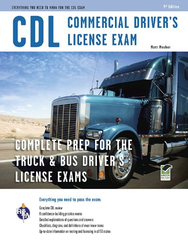Price comparison product image CDL - Commercial Driver's License Exam (CDL Test Preparation)