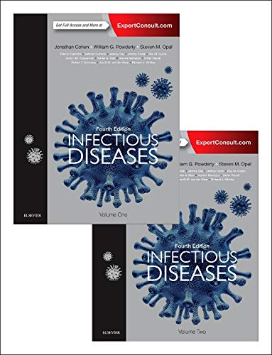 Compare Textbook Prices for Infectious Diseases, 2-Volume Set 4 Edition ISBN 9780702062858 by Cohen M Sc  FRCP  FRCPath  FRCPE  FMedSci, Jonathan,Powderly MD, William G,Opal MD, Steven M.