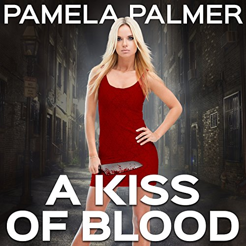 A Kiss of Blood audiobook cover art