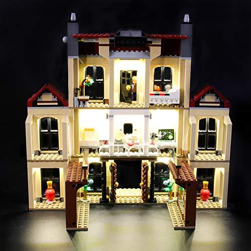 LIGHTAILING Licht-Set Für (Jurassic World Indoraptor Verwüstung) Modell - LED Licht-Set Kompatibel Mit Lego 75930(Modell Nicht Enthalten)