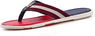 Summer Beach Massage Flip Flops Shoes Men Rubber Sandals Top Quality Male Slipper Indoor Amp Outdoor Flip-flops (Color : C, Shoe Size : 41)